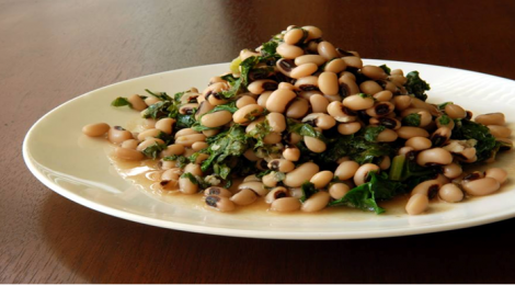 Black-eyed Peas and Kale